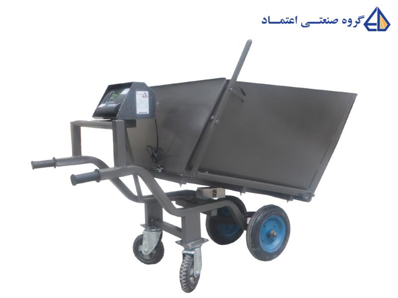 ارابه چهار چرخ دیجیتال اعتماد مدل WBL